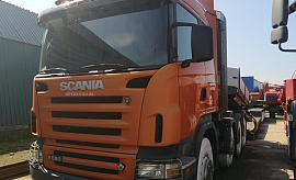 Scania R580  + трал Doll